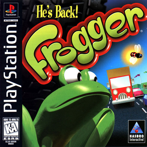 Frogger [NTSC-U] Front Cover